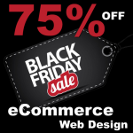 Black Friday Ecommerce website design offer, custom made bespoke ecommerce website design