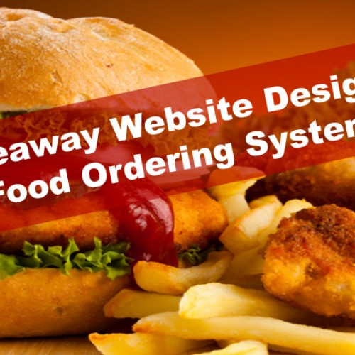 Food Ordering System, Takeaway Website Design